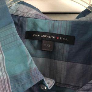 John Varvatos Shirts - Men's John Varvatos Casual Button Down Shirt
